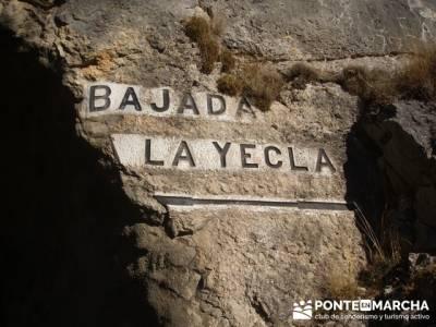 Bajada al Desfiladero de Yecla; torrelaguna; patones